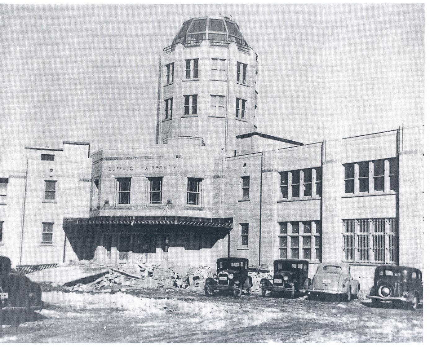 Buffalo International Airport Terminal 1930's