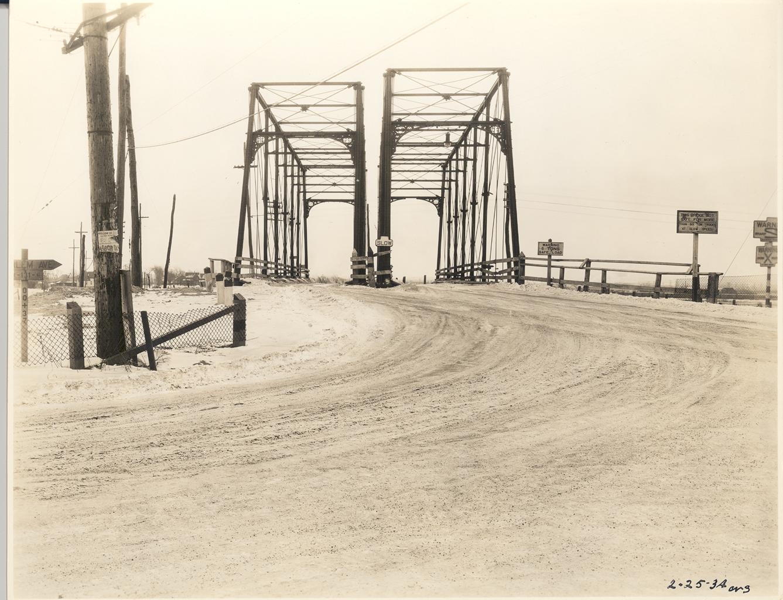 Harlem Road Bridges Feb. 25, 1934
