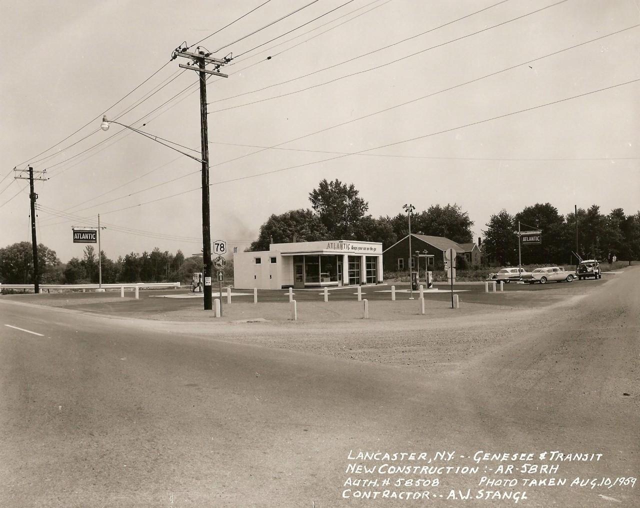 Genesee & Transit August 10, 1959
